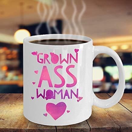 LECE Woman Mug, Grown Ass Woman Mug, Woman Gift, Funny Gift For Her, Sassy Woman Gift, Sexy Woman Gift, Birthday Gift For Her, PMA Women Gift