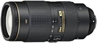 Nikon AF-S FX NIKKOR 80-400mm f.4.5-5.6G ED Vibration Reduction Zoom Lens with Auto Focus for Nikon DSLR Cameras