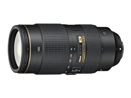 Nikon AF-S FX NIKKOR 80-400mm f.4.5-5.6G ED Vibration Reduction Zoom Lens with Auto Focus for...