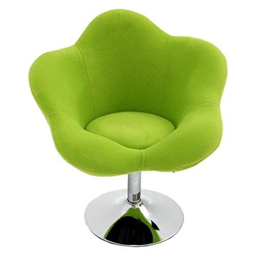 HCJLR FJXLZ® Pouf, Balcon Chambre Loisirs Chaise d'ordinateur Amovible et Lavable Hauteur réglable Rotate Flax Chair Pliable, Amovible Sacs de Haricot Paresseux Faut (Couleur : #1)