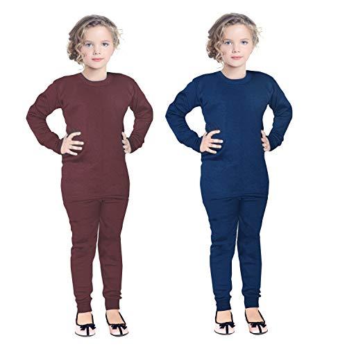 FAIQA Thermal Wear Top Pajama Set for Boys Girls Kids Baby...