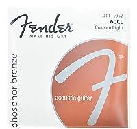 FENDER フェンダー アコースティックギター弦 60CL PH0S BRONZE 11-52