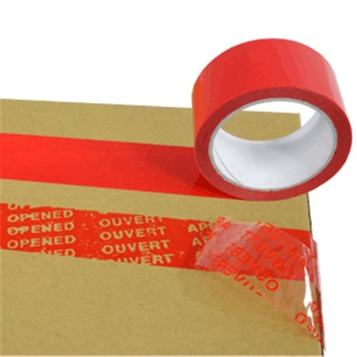 Security Tape, polyester, rol, 5x500 cm