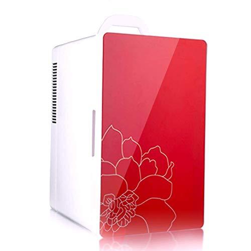 WRJY Mini refrigerador de 16 litros - Nevera portátil para Bebidas de Cerveza con función de enfriamiento y Calentamiento - para Dormitorio, Caravana, Oficina, Azul
