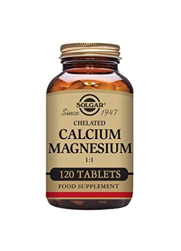 Solgar Chelated Calcium Magnesium 1:1 Tablets - Pack of 120
