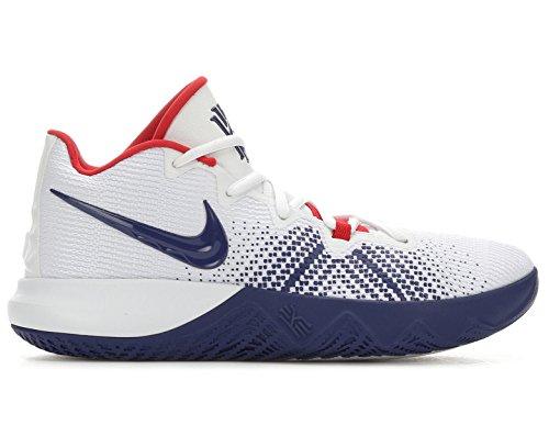 Price comparison product image Nike Men's Kyrie Flytrap Basketball Shoes, (White / Blue, 10 D (M) US)