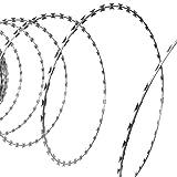 vidaXL Alambre de Concertina de Acero BTO-22 150 m con Contenedor de Plástico