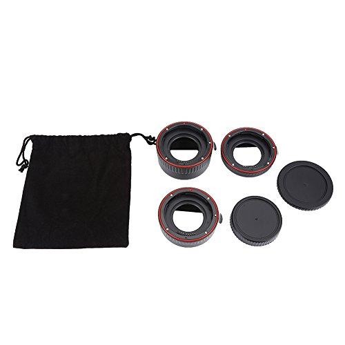 Accesorio de lente de extensión macro de enfoque automático, juego de anillos...
