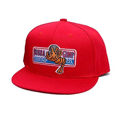 Culer Caps Gorra De Béisbol Ajustable Forrest Gump Bordado del Traje del Sombrero del Snapback Unisex Plana ala