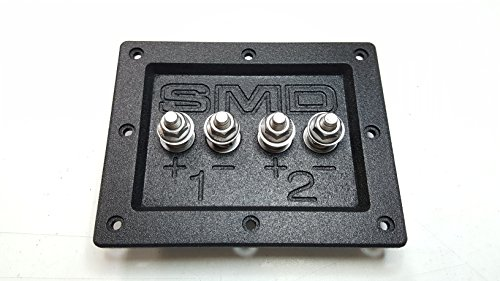 SMD 2 Channel Speaker Terminal (Stainless)