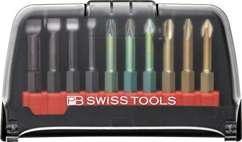 Irega pb Swiss Tools Bohraufsatz-Set Bitblock e6-986 (10 Stück)