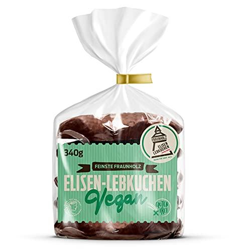 Lebkuchen - vegan - original Nürnberger Elisen-Lebkuchen - Schokolade - ohne Mehl - handgefertigte Qualität - prämierte Meisterhändler-Manufaktur