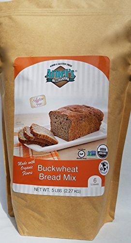 Buckwheat Bread Mix, organic, vegan, kosher, allergy friendly, non-GMO