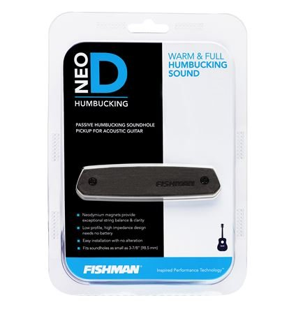 FISHMAN『NEO-D Humbucking Magnetic Soundhole Pickup』