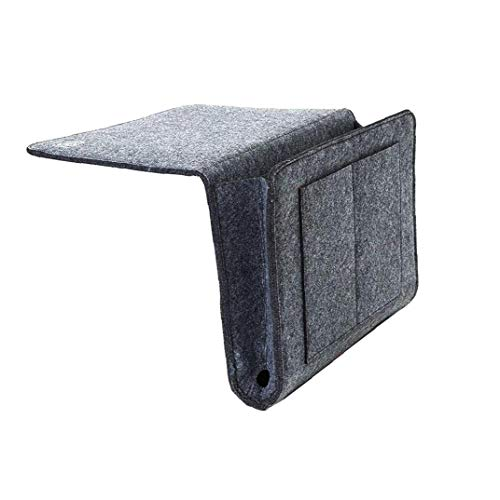 DierCosy Tools Al Lado de Cama era Organizador del almacenaje de Caddy Organizador Sofá Escritorio Colgantes del Bolso del Organizador de mandos a Distancia Libros Revista de la Tableta