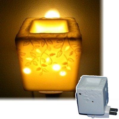 アロマオールナイト スクエア 生活の木 アロマランプ(電気式芳香器)