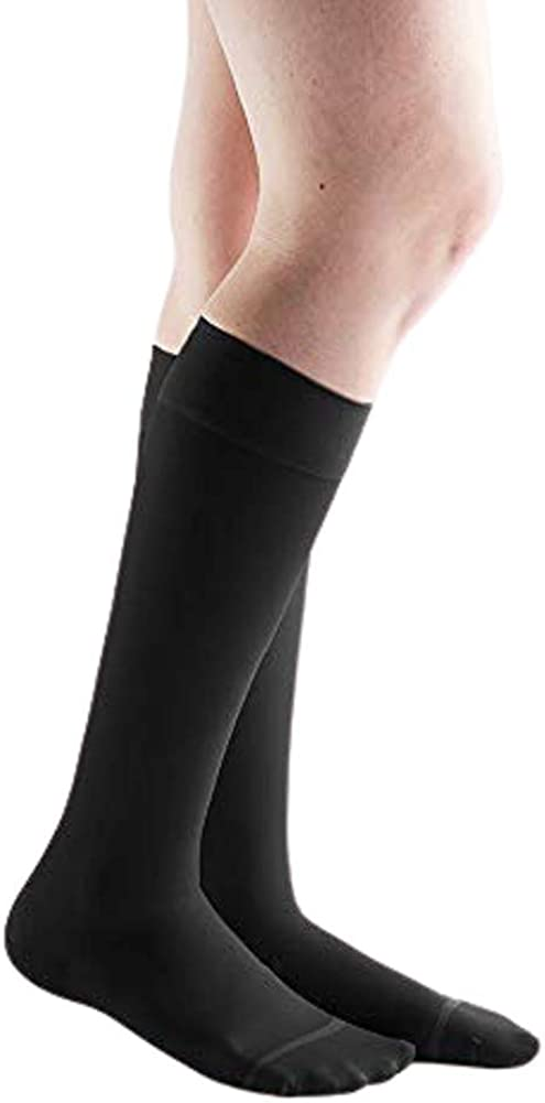 Actifi Women's Sheer Indianapolis Branded goods Mall 8-15 mmHg Knee Stockings High Compression