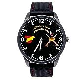 Reloj Legión G&B Correa Caucho Esfera Negra