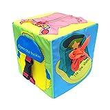 Lernwürfel Lernspielzeug Box Dressing Lernen Baby Würfel Stoffwürfel Weich zum Kinder Lern-Spielzeug für Dressing Schnürsenkel