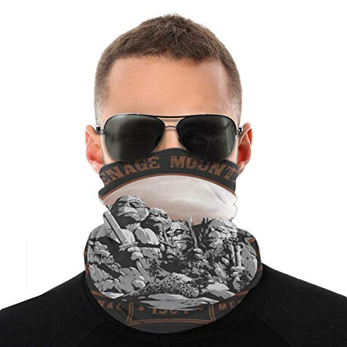 Teenage Mountain Ninja Turtles Mount Rushmore Kopftuch Fahrrad Magic Headwear Halstuch Gesicht Bandana Schal