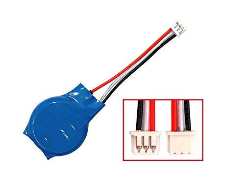 Replacement CMOS Battery for DELL Latitude E6510 E6410 E6500 E6400 E5510 E5500 E5410 E5400 Backup Reserve Button Cell Batteries 3 Pins 3 Wires