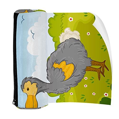 Dodo Bird in Park - Estuche para lápices, diseño de pájaro en el parque