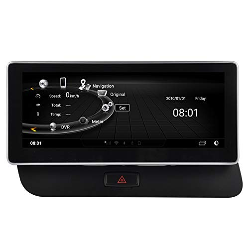 Autosion - Radio de 10,25 Pulgadas Android 7.1 Quad Core para Audi Q5 A4l 2009 2010 2011 2012 2013 2014 2015 2016 2017 estéreo GPS navegación WiFi 3G RDS Mirror Link FM Am