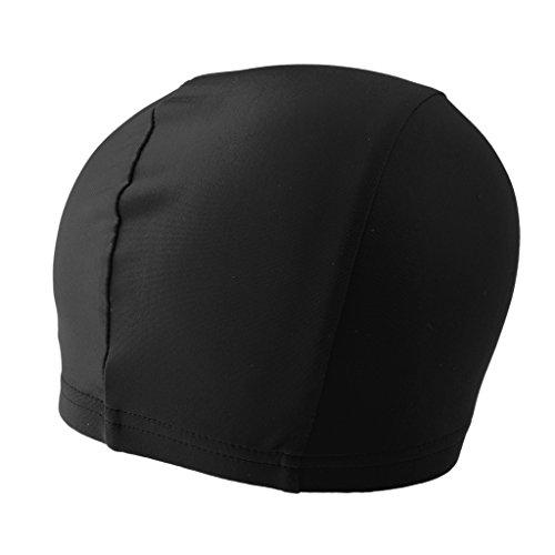 Sharplace Bonnet Chapeau de Crâne sous Casque à Séchage Rapide Beanie Cap pour Vélo Moto Ski - Noir, comme décrit