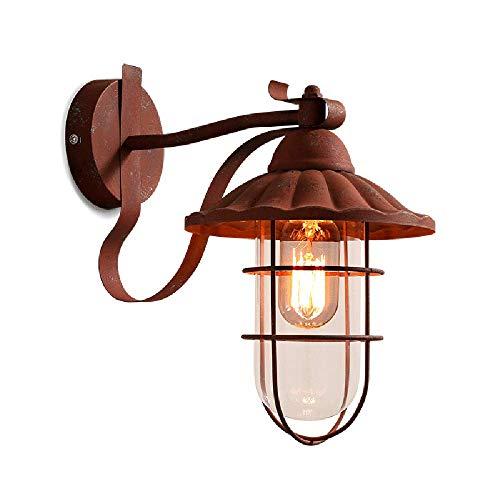 Retro mur luminaire rouille décor poinçons Salon Chambre Bureau Spot Lampe Réglable