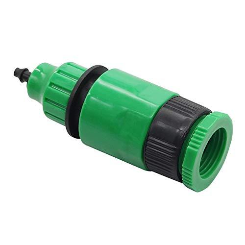 PVC grifo Conector 1 Pc Jardín de acoplamiento rápido de agua con 1/2 pulgada de rosca hembra jardín uniones de tubo de riego por goteo de tuberías Conectores rápidos