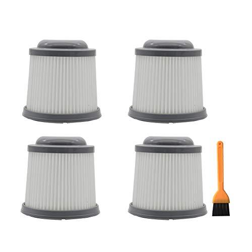 EZ SPARES Replacement for Filter,Black & Decker Vacuum Cleaner,PVF110 PHV1810 PHV1210 BDH2000PL Part 90552433-03(4PCS)