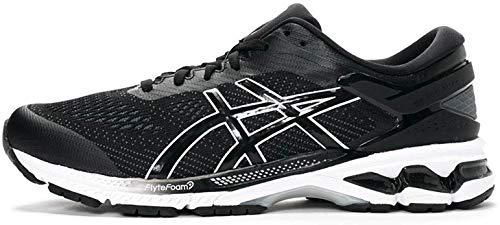Asics Gel-kayano 26, Men's Running Shoes, Black / White, 6 UK (40 EU)