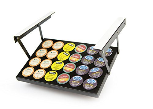 Under Cabinet Coffee K-Cup(tm) Holder (Patented Technology) 13' Wx9 Lx1 H