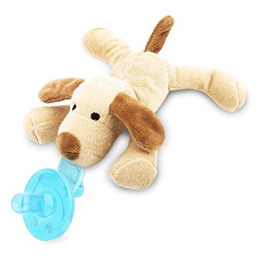 Zooawa Baby Schnuller - Silikon Schnullertier für 0 bis 18 Monate Mädchen Junge Kinder, BPA frei Zahnfreundlich Kreativ Sauger pacifier Beruhigungssauger, Hund