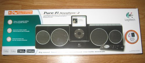 Logitech Pure-Fi Anywhere 2 Compact Speakers for iPod/iPhone