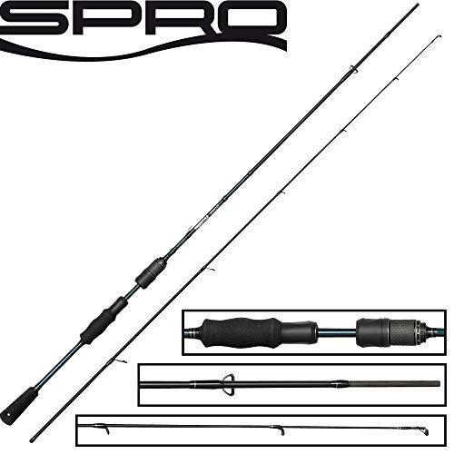 Spro Skillz Versatile Freestyle 2m 7-24 Angelrute Zum Spinnangeln auf Barsche & Zander, Raubfischrute, Jigrute, Zanderrute