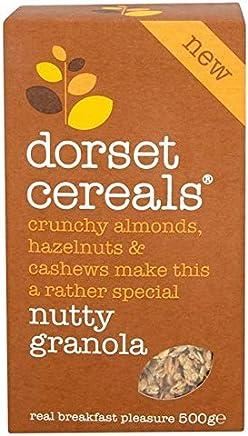 [Dorset Cereals ] ドーセット州の穀物単にナッツグラノーラ500グラム - Dorset Cereals Simply Nutty Granola 500g [並行輸入品]