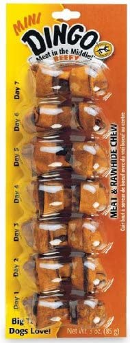 Dingo Beef Flavored Max 2021 spring and summer new 64% OFF Mini Rawhide Toy Small Dogs for Bones