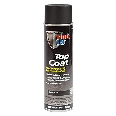 POR-15 46618 Top Coat Flat Gray Spray Paint 16
