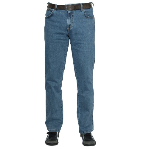 Wrangler Herren Texas Jeans, MITTEL-BLAU, 48W / 34L