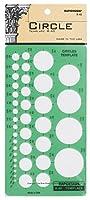 (Circles) - Rapidesign Circles Template, 1 Each (R40)
