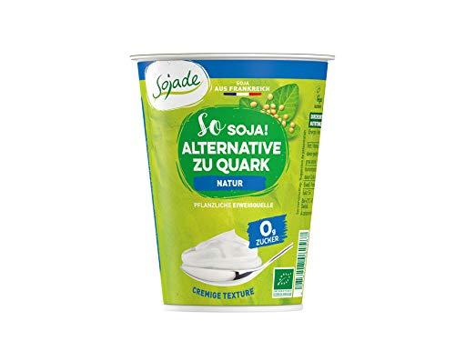 Sojade Bio Bio Soja pflanzliche Alternative zu Quark Natur (6 x 400 gr)