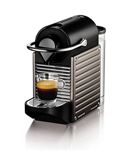 Nespresso Pixie por Krups Cafetera XN300540, Titanium