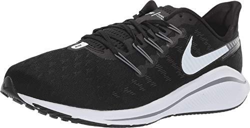 Nike Air Zoom Vomero 14 Men's Running Shoe Wide (D) Black/White-Thunder Grey 10.0