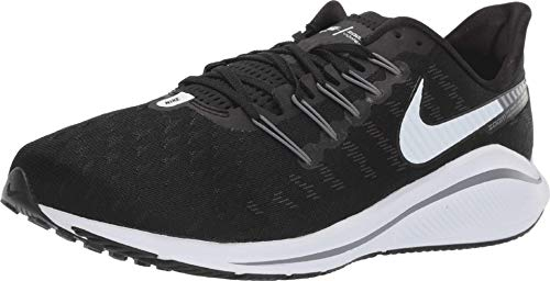 Nike Air Zoom Vomero 14 Men's Running Shoe Wide (D) Black/White-Thunder Grey 10.0