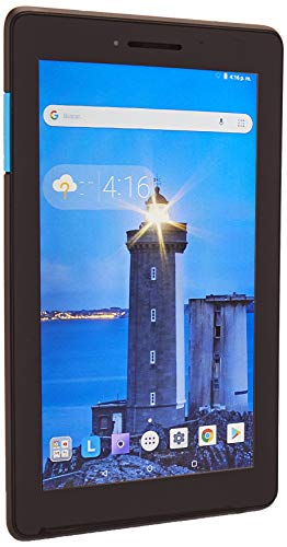 Lenovo TB-7104F Tableta de 7″ (Bluetooth, Wi-Fi, Qualcomm Xeon 1.5 GHz, 1GB RAM DDR3, 8 GB), Negro