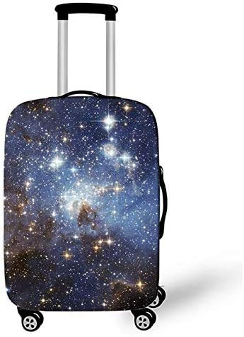Suitcase Cover Beautiful Starry Sky Design Travel Trolley Case Cover 29-32Inch Protector Suitcase Cover Trolley Case Luggage Storage Covers Size XL