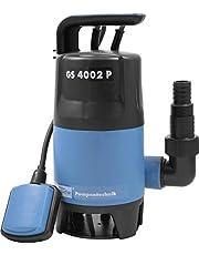 Güde vuilwaterdompelpomp GS4002P met var.vlotterschakelaar, 94630, zwart, blauw