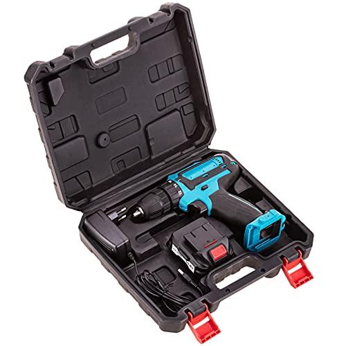BeMatik - Taladro Atornillador sin Cables de 10.8V