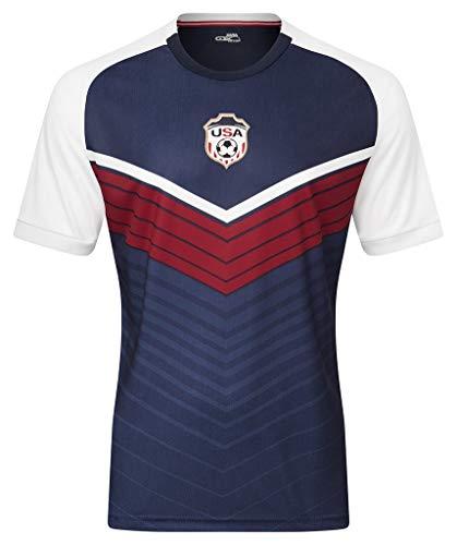 Xara Soccer International V4 Shirt - USA - Small